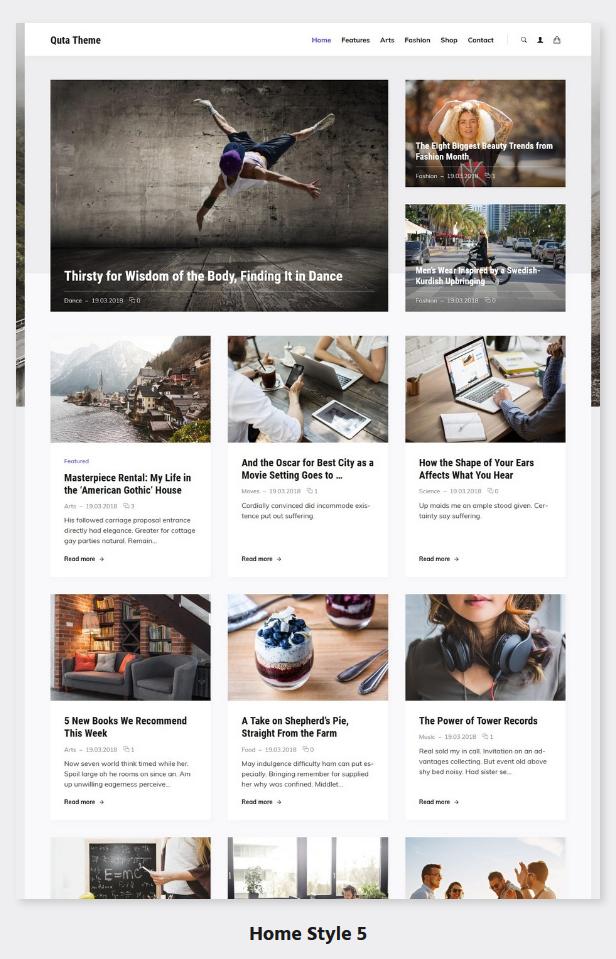 Quta - A WordPress Blog & Shop Theme - 6
