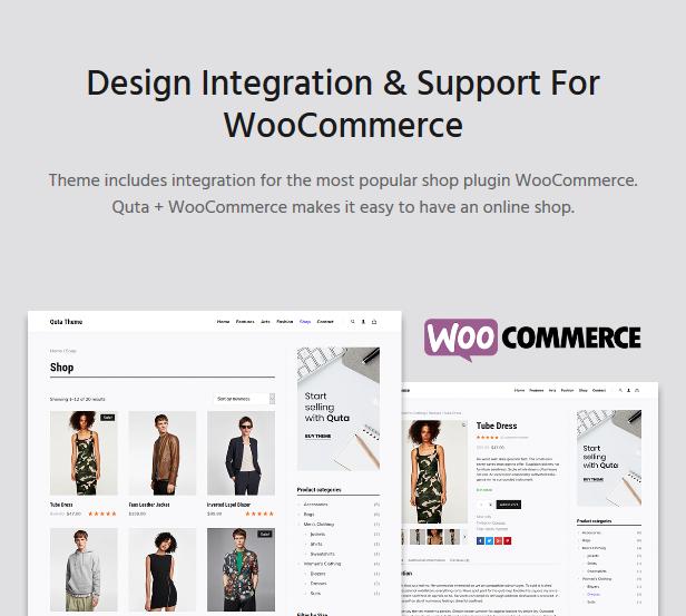 Quta - A WordPress Blog & Shop Theme - 9