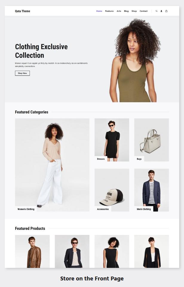 Quta - A WordPress Blog & Shop Theme - 8